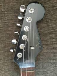 Santo graal golden anos 80 90 strato guitarra vintage v6 sx shelter fst62 635 dolphin comprar usado  Santo André