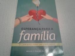 """Livro """"Esperança Para A Família"""""""
