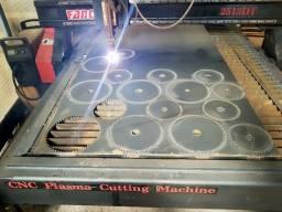 Máquina CNC PLASMA Fonte 65A Hypertherm