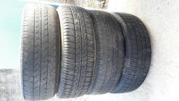 Rodas com pneus Bridgestone - 2012