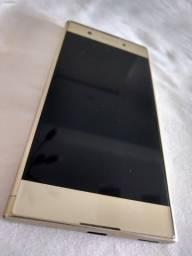 Celular Sony XA1Plus - 23M Pixels - Dourado - com NF