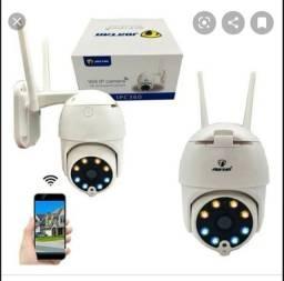 Câmera Ip segurança com led farol e infravermelho usa apenas celular loja em Timóteo