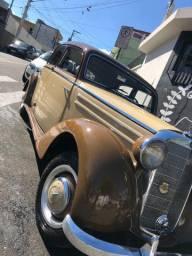 Mercedes Benz 170S 1951 Placa Preta