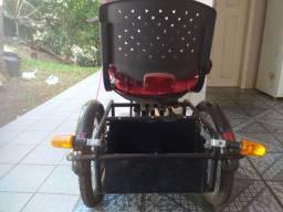 Vendo triciclo com tração dianteira completo