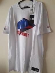 Camiseta New Era NBA Detroit Masculina. Entrego na ilha ou centro grátis comprar usado  Rio de Janeiro