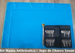 Manta Antiestatica 34cm x 23cm + Kit Chaves Yaxun Celular Tablet Note comprar usado  Canoas