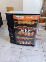Assador na caixa