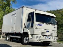 Ford Cargo 815e ano 2009 Baú 5,50 linda caminhão 3/4