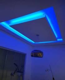 Fita de led RGB 5 metros completa com controle