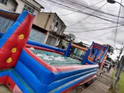 Aluguel de brinquedos inflável