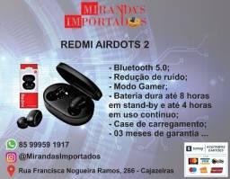 Título do anúncio: Redmi Airdots 2 Original Xiaomi (03 meses de garantia)