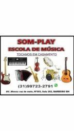 Escola de música em BH som-play