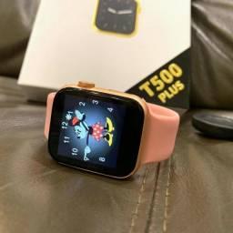 Smartwatch T500 Original Troca Pulseira