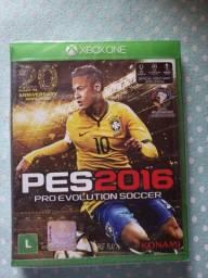 Jogo Xbox One - PES 2016 novo