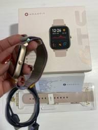 Título do anúncio: smartwatch amazfit gts novo