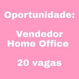 Título do anúncio: Vagas Home Office