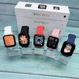 Título do anúncio: Relogio Smartwatch Inteligente T500+ Plus