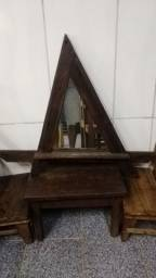 Título do anúncio: Espelho decorativo rústico