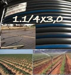 """Mang. Irrigação/Const. 1"""".1/4""""x3,0mm-Direto Fabrica e Distribuidora."""