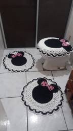 Jogo de banheiro da Minnie