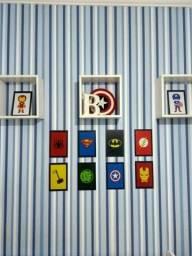 Placas/Quadros Decorativas em PVC