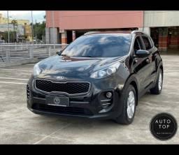 Título do anúncio: Sportage LX aut. 2017 *top*couro*impecável*financio 10% sem entrada**