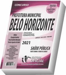 Apostila Prefeitura de Belo Horizonte - MG - Nível Superior - Saúde