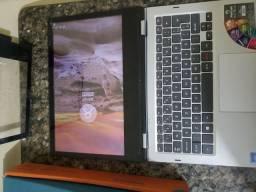 Notebook híbrido tablet positivo duo 32gb 4gb apenas 750.00