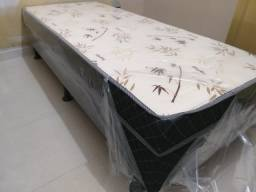 Oferta**Cama Box Solteiro, Conjugado, Novo