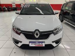 Renault Logan Zen 1.6 CVT 2020, Impecavel, peq. entrada + parcelas de 1.199,00