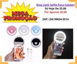 Ring Ligth Selfie Para Celular!