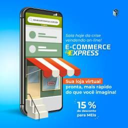 Seu e-commerce pronto em poucos dias!