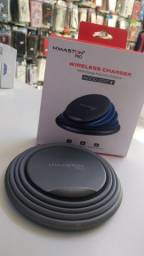 Carregador Portátil Wireless Charger H'maston Pro