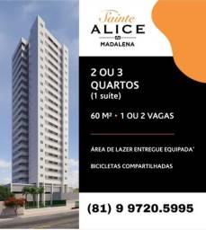 Título do anúncio: M.S Vendo na Madalena - Edf. Saint Alice 3 quartos (1 suíte)