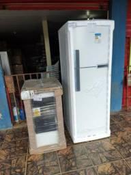 Promoção geladeira brastemp nova Parcelo cartão de crédito entrego