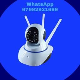 Título do anúncio: Camera IP monitoramento pelo celular.