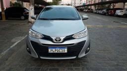 Título do anúncio: Toyota Yaris Sedam 2019 1.5 Automatico Câmbio=(CVT)24 mil km e emplacado até outubro 2022