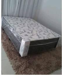 cama box de casal 07 cm de espuma