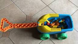 Carrinho de pl'sstico com legos em santa cruz do sul