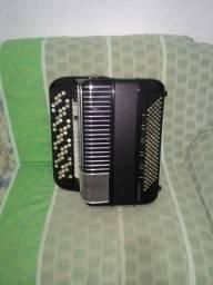 Título do anúncio: acordeon cromático hohner electravox N