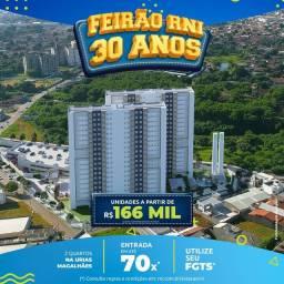 Apartamento 2 quartos av. Marechal Rondon/ Urias Magalhães