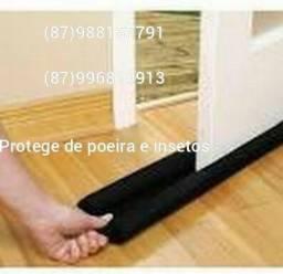Título do anúncio: Protetor veda portas Duplo ! Contra poeira insetos e roedores!!