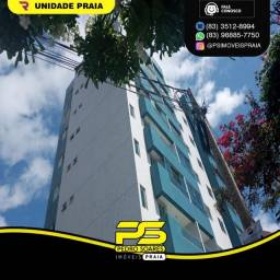 Título do anúncio: Apartamento com 1 dormitório para alugar, 58 m² por R$ 1.800/mês - Cabo Branco - João Pess