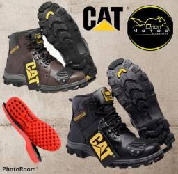 Título do anúncio: Desconto Promocional Bota Cat com Reforço, Colada e Costurada