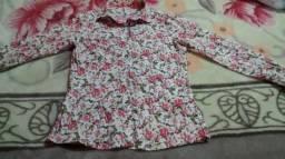 Camisas femininas Tam P