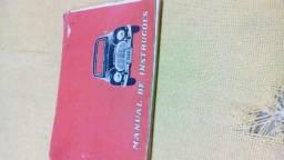 Manual do proprietario DKW 66