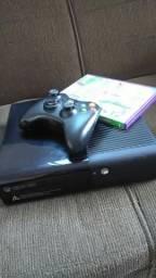 Xbox 360 novo travado