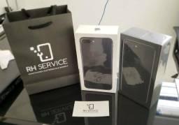 Iphone 7 plus 32gb black lacrado nota fiscal