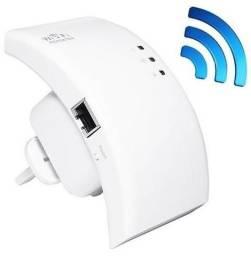 Repetidor extensor amplificador sinal wifi wireless rj45 - entrega grátis