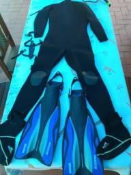 Kit mergulho ou pesca sub aquatica